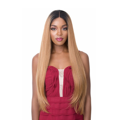 [IT'S A WIG] Human Hair Premium Mix 360 Lace Wig BARBIE
