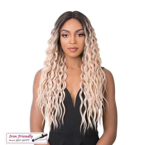 IT'A WIG Swiss Lace Front Wig SUN FLOWER