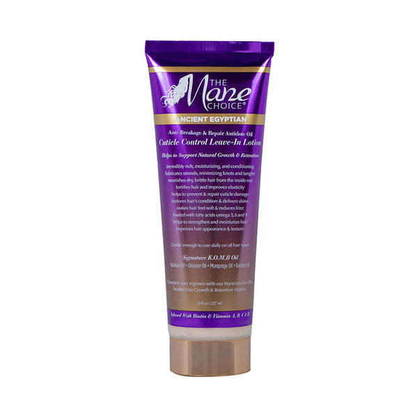 THE MANE CHOICE Ancient Egyptian Cuticle Control Leave-In Lotion 8oz