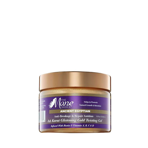 THE MANE CHOICE Ancient Egyptian 24 Karat Glistening Twisting Gel 12oz