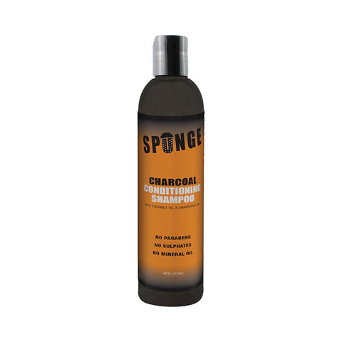 [SPUNGE] Charcoal Conditioning Shampoo 6oz