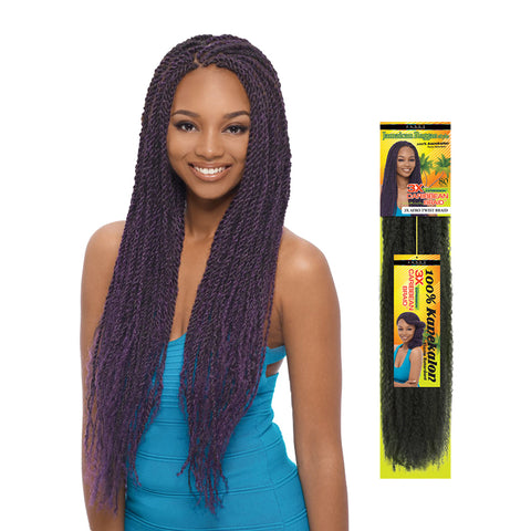 JANET 3X Caribbean Afro Twist Braid