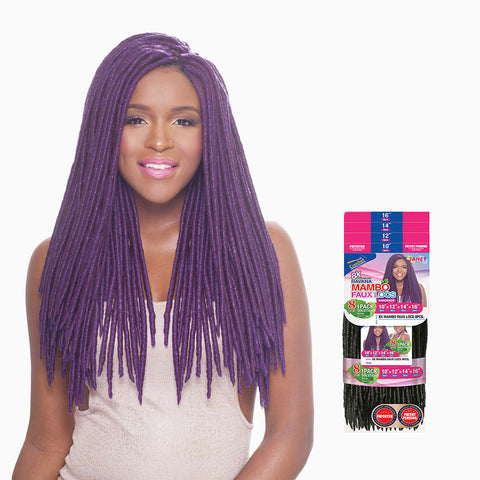 [Janet] 8X Mambo Faux Locs Braid 8Pcs - Braid