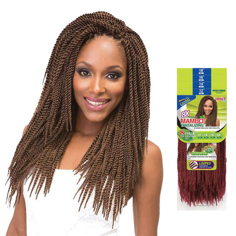 JANET 8X Mambo Tantalizing Twist Braid 8pcs