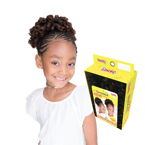 [JANET] Everytime Kids Drawstring Lovely Kid Wand Curl