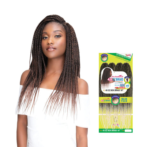 JANET Pre-Feathered 4X EZ Box Braid