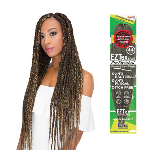 JANET EZ Tex Pre-Stretched Braid 44""