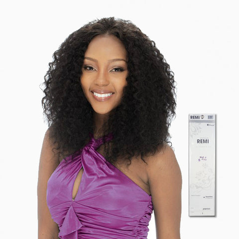 [Sensual] 100% Human Hair Wet & Wavy Indian Jerry Curl 5Pcs - Weaves