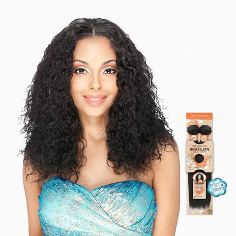 [Sensual] 100% Human Hair Wet & Wavy Brazilian Passion Wave - Weaves