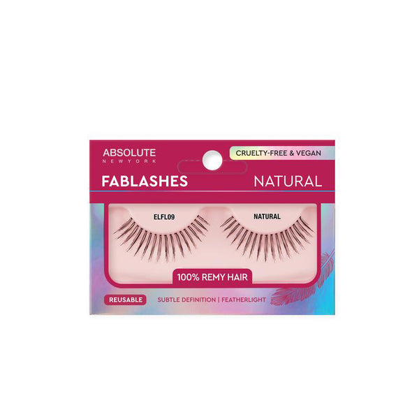 ABSOLUTE NEW YORK FABLASHES - Natural