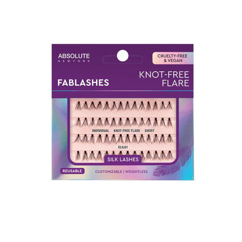 [ABSOLUTE NEW YORK] FABLASHES - Individual Knot-Free Flare