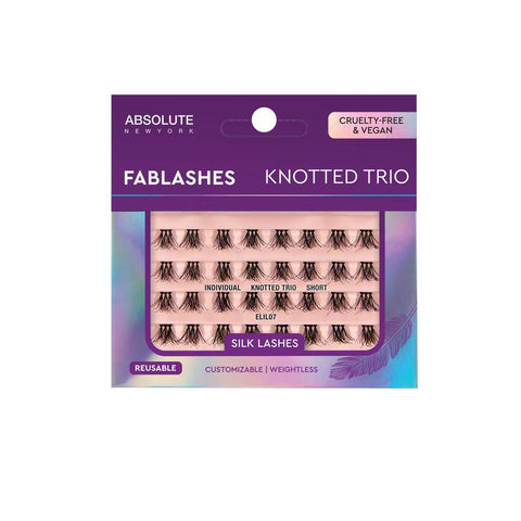 [ABSOLUTE NEW YORK] FABLASHES - Individual Knotted Trio