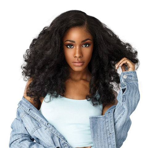 SENSATIONNEL Empress CURLS KINKS & CO TEXTURED Lace Front Wig HEART BREAKER