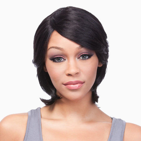[Its A Wig] Remi Hair Full Cap Wig First Duby - Wigs