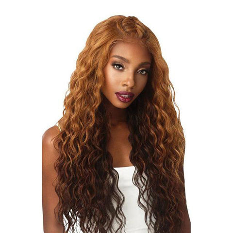 OUTRE Synthetic Perfect Hairline 13X6 Pre-Braided Lace Front Wig  IBA