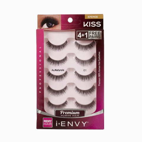 [KISS] iENVY PREMIUM LASHES-Multi Pack