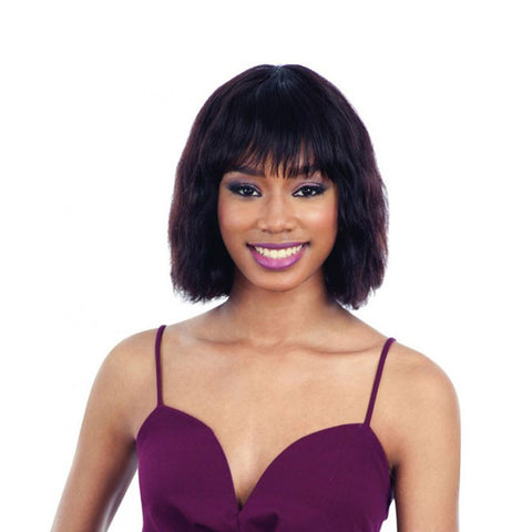 SHAKE-N-GO NAKED Brazilian Natural Human Hair Premium Wig MELODY