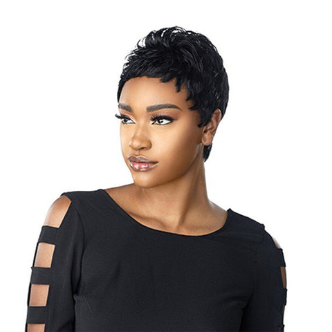 SENSATIONNEL Human Hair EMPIRE Wig MONA