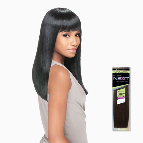 [Sensationnel] Next 100% Human Hair Natural Perm Yaki - Weaves