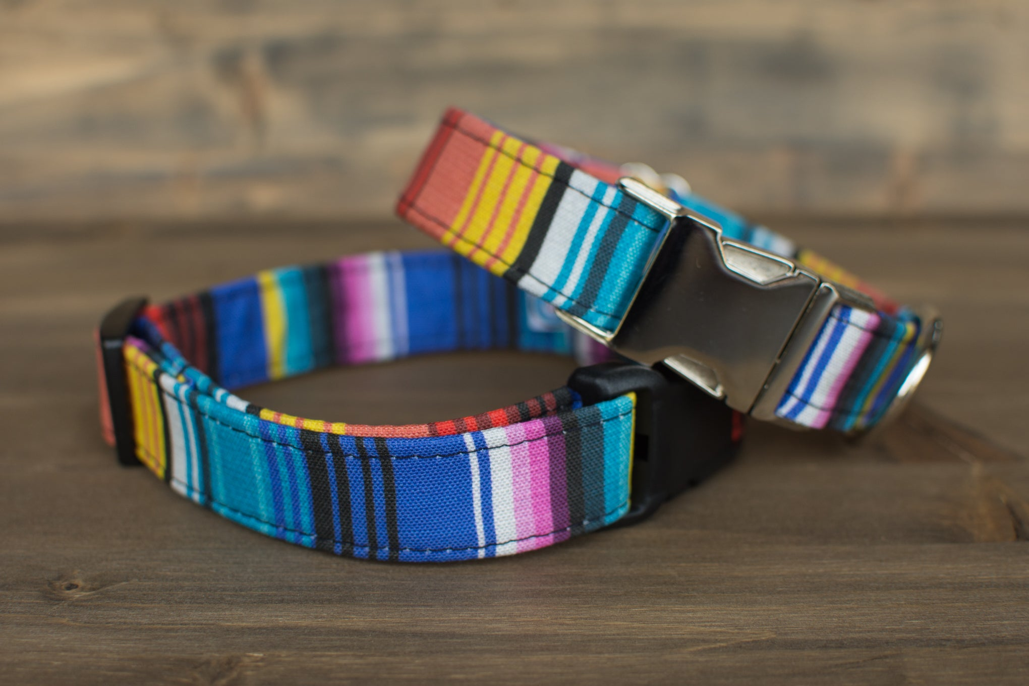 Spanish Stripes Dog Collar