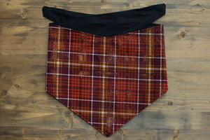 Fall Plaid Dog Bandana
