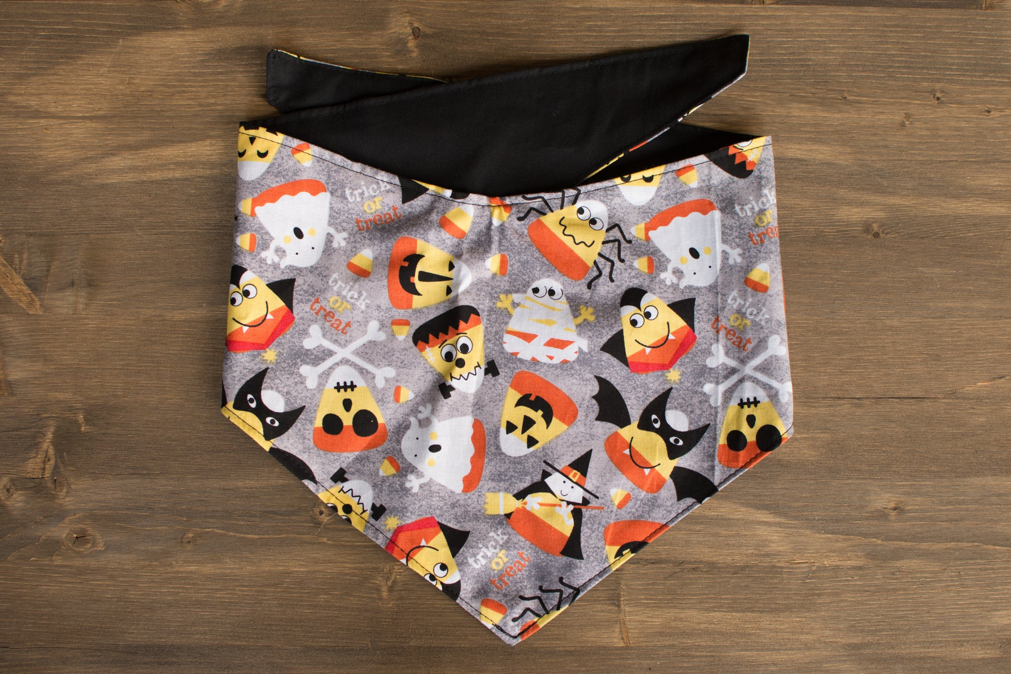 Candy Corn + Friends Dog Bandana