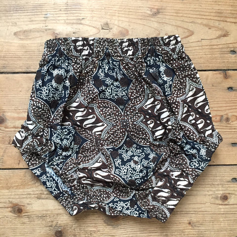 Batik Nappy Cover, Cocoa