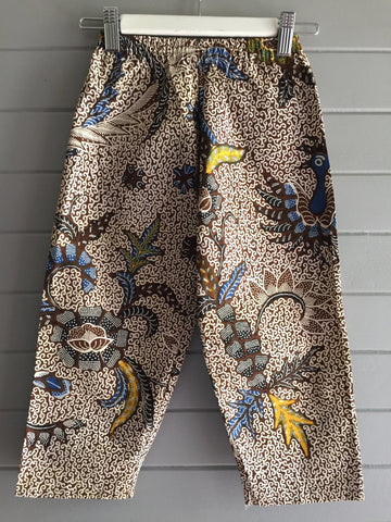 Batik Pants, Golden Feathers