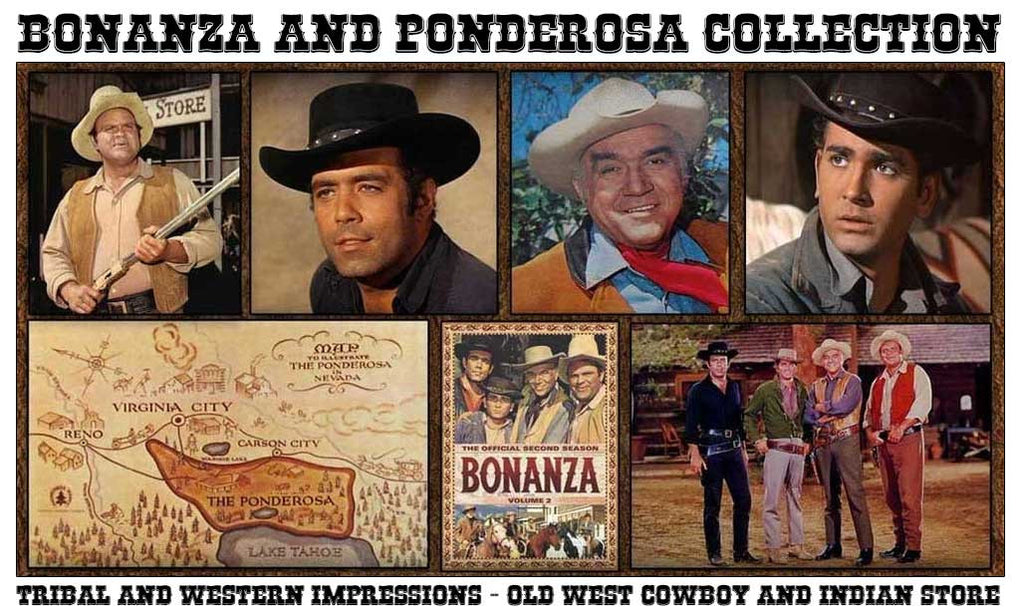 Bonanza Ponderosa Cartwright Outfits And Collections from Tribal And Western Impressions - www.OldWestOutfitStore.com