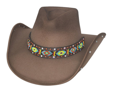 Bad Axe River Montecarlo Bullhide Designer Shapeable Western Hat