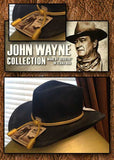 The Fort Crushable Wool - John Wayne - Resistol Cowboy Hat- Black