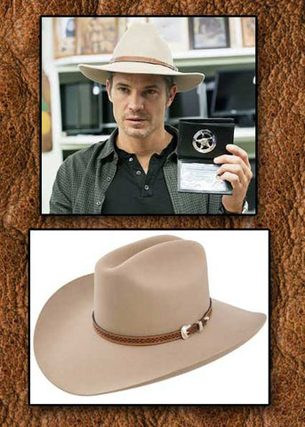 Best Seller! Stetson Marshall  Givens Justified- (4X) Wool Cowboy Hat