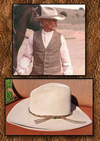 A Best Seller! Lonesome Dove Robert Duvall Stetson 6X Legendary Beaver Fur Felt Gus Cowboy