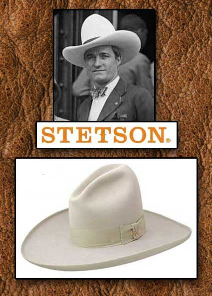 Legendary Stetson 6X Felt Fur Ten Gallon Tom Mix Hat