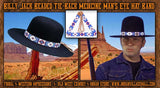 Billy Jack Beaded Tie-Back Medicine Man's Eye Hat Band