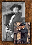 Tattoos & Scars 10X Lee Van Cleef Sabata Charlie 1 Horse Old West Hat