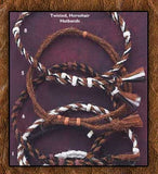 Twisted Horsehair Hatband Collection -Five Colors