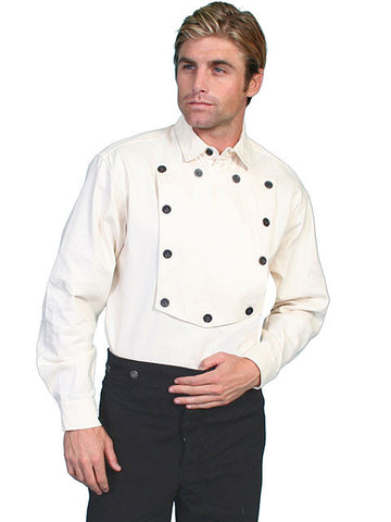 A Best Seller! Scully Bib Shirts Like John Wayne Wore In Many Movies