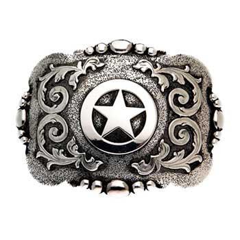 "And West ""Cabrillo"" Vintage Texas star with etching and scrolls"