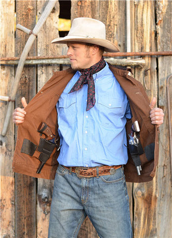Chisum Concealed Carry Cotton Canvas Jacket