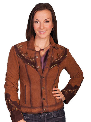 Western Studded Yoke Jacket