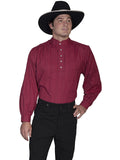 Scully Old West Tombstone Collar Lightweight Shirt - Natural-RW-015-NAT