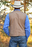Canvas Concealed Carry Texas Cowboy Vest