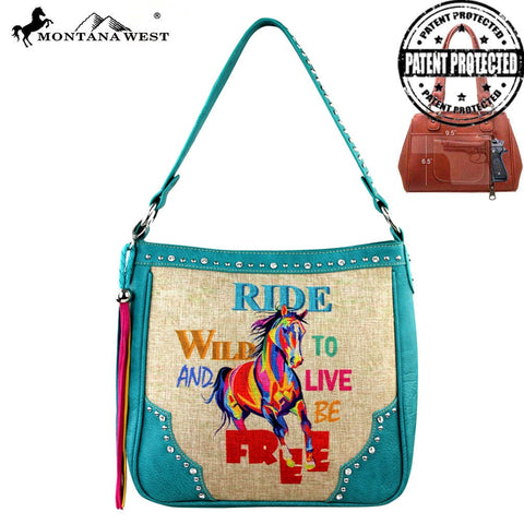 Montana West Concealed Handgun Collection Handbag -Three Color Choices