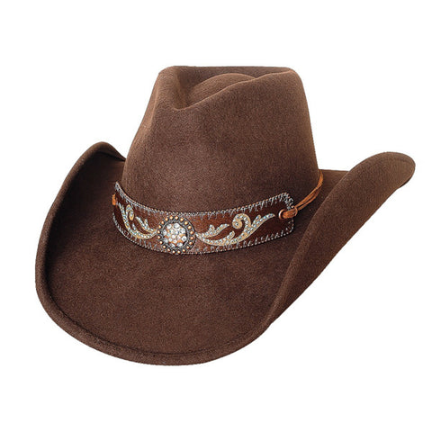 Best Seller! Bullhide Montecarlo Hangin Out - Shapeable Wool Felt Cowgirl Hat