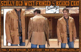 Scully Old West Fringed And Beaded Coat - Burbon