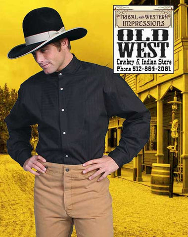 Big Boss Wahmaker Old West Outfit - Shirt And Pants