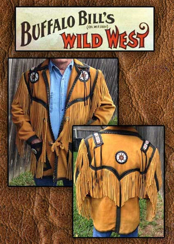 Buffalo Bill Show Stopper Southwestern Smoked Edge Indian Fringed Show Coat -Buf01