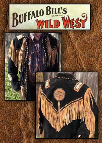 Buffalo Bill Show Stopper Buffalo Western Fringed And Beaded Coat -Buf01