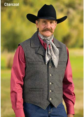 Cattle Baron Vest - Made in The USA By Schaefer